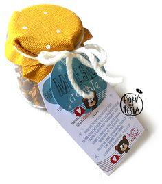 FIORI IN TESTA: Il regalo di Natale goloso: MUESLI croccante con ETICHETTA free-printable