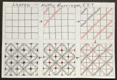 Tangle:  Lauren by Kathy Barringer on her blog.