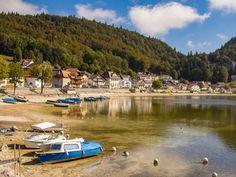Vom Mont Soleil an den Genfersee - Pause am Lac de Joux, diesmal bei Sonnneschein #Transjurane2 Pause, Dolores Park, Travel, Veils, Law School, Tours, Nature, Trips, Viajes