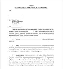 Image Result For Interest Letter Format For Land Purchase Letter