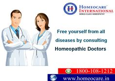 Do you have any health problem?? Have you lost your hope by conventional approach?? Want to cure it through constitutional Homeopathy?? Then contact highly diligent Homeopathic Doctors at Homeocare International and get wonderful times in your life. Visit Us@onlinehomeocare.com