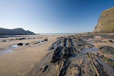 Crackington Haven Beach - North Cornwall, Cornwall Beaches
