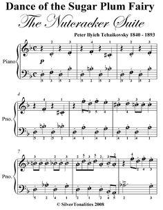 Dance of the Sugar Plum Fairy the Nutcracker Suite Easy Piano Sheet Music Easy Sheet Music, Easy Piano Sheet Music, Violin Sheet Music, Printable Sheet Music, Piano Letters Songs, Letter Song, Piano Songs, Christmas Piano Music, Nutcracker Music