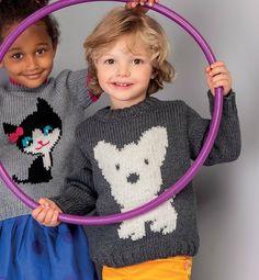 Pull taille 2 ans à 10 ans en laine PHILDAR de La Malle aux Mille Mailles - free