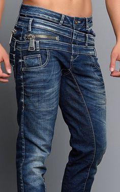Cipo Baxx Mens Jeans CD154 - CIPO & BAXX - AUSTRALIA