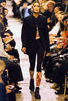 Jean Paul Gaultier Spring 1994 Ready-to-Wear Fashion Show - Yasmeen Ghauri