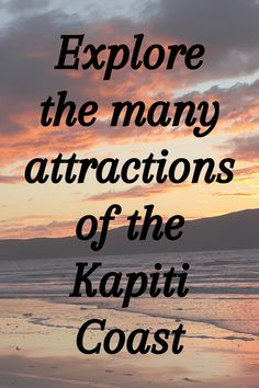 Explore the many Attractions of the Kapiti Coast.  The Kapiti Coast is located north of Wellington on the West Coast of the North Island. It includes 40 kilometers of unspoilt beaches.  #ontheroadkiwis #travel #newzealand #nztoday #nzmustdo #photography #newzealandlife #northisland #kapiticoast #paraparaumu Queen Elizabeth Park, Wellington City, Our Lady Of Lourdes, Great Walks, Private Garden, Travel List, West Coast, Lakes, Places To See