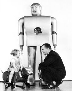 Elektro and Sparko by Westinghouse, 1939 World's Fair