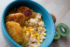 MittwochsBox #3: Reissalat mit Mandarinen und Mais und Chicken-Nuggets