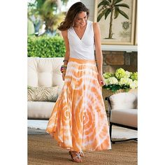 Sunset Skirt in Summer 2013 from Soft Surroundings on shop.CatalogSpree.com, my personal digital mall.