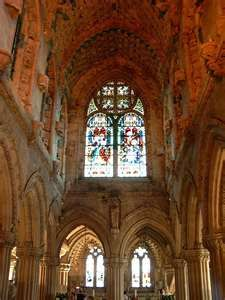 Rosslyn Chapel- founded by my Sinclair ancestors. I would love to go see it <3