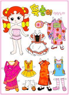 Korean paper doll - mary marie - Picasa Webalbum