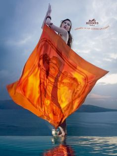 Dear god... the things I'd do for an Hermes silk scarf are sinful and extremely shameful. ::: Hermès ad