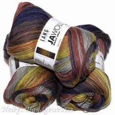 Jawoll Magic 6-fach Braun-Grün-Grau von Lang Yarns - Heikes Handgewebtes: Traumhafte Wolle für Socken und noch viel mehr - dreamlike wool for socks and much more