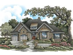 Craftsman House Plan with 1885 Square Feet and 3 Bedrooms from Dream Home Source | House Plan Code DHSW075862
