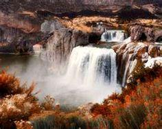 waterfalls in  idaho