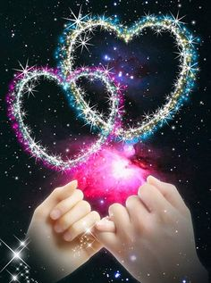 We make the wish, the universe gives us the promise. Namaste Gathering in love Beautiful Love Images, Love Heart Images, I Love You Pictures, Love You Gif, Beautiful Rose Flowers, Heart Pictures, Beautiful Nature Wallpaper, Love Wallpaper Download, Love Wallpapers Romantic