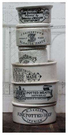 Vintage English Pots