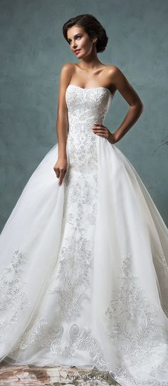 Amelia Sposa 2016 Wedding Dress | Belle The Magazine Like and Repin. Thx Noelito Flow. http://www.instagram.com/noelitoflow