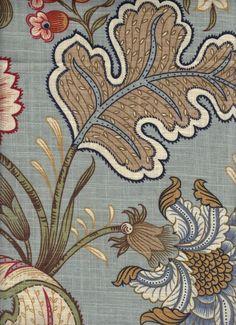 Barone Blue - www.BeautifulFabric.com - upholstery/drapery fabric - decorator/designer fabric