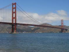 Golden Gate Bridge from Chrissy Field