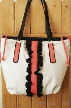 The Ashley Bag – A New Purse Tutorial! » Flamingo Toes