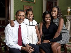 Love the Obama family. <3 An essay by Barack Obama on being the father he never had.. very sweet.