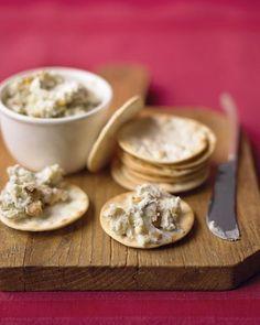 blue cheese + walnut spread
