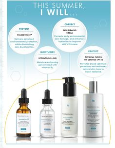 How will you take care of your skin this summer? Try top selling products from SkinCeuticals.