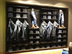 denim wall, pinned by Ton van der Veer