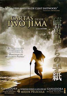 A película ofrece a versión nipona da batalla de Iwo Jima, o episodio máis cruento da guerra do Pacífico, no que morreron máis de xaponeses e americanos. Clint Eastwood, Dreamworks, Cgi, Cover Art, Netflix, Cinema, Letters, Movies, Films