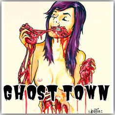 zombie.. you're a zombie girl...<3 love ghost town.. and this song!!!!
