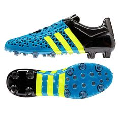 One of the best looking boots on the field. These Adidas ACE soccer cleats will help you control the game. The FG/AG soleplate makes sure you can play on any surface. Order your Adidas soccer cleats today at SoccerCorner.com.  http://www.soccercorner.com/Adidas-ACE-15-1-FG-AG-Soccer-Cleats-p/sm-adb32859.htm