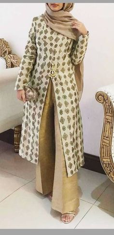 Abaya Fashion, Fashion Wear, Modest Fashion, Indian Fashion, Pakistani Outfits, Indian Outfits, Ethnic Trends, Kurti Styles, Hijab Trends