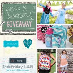 I just entered the $600 Back 2 School #giveaway from @veryjane, @justcouture, and So Kali!