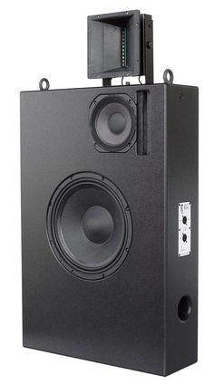 Pro Audio Speakers, Audiophile Speakers, Horn Speakers, Tower Speakers, Diy Speakers, Hifi Audio, Sound Wall, Sound Room, Audio Design