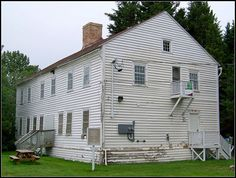 The Hudson's Bay Company Staff House, 1850 Moose Factory, Ontario. Home History, Local History, Family History, Canada 150, Fur Trade, Western Canada, Canadian History, Hudson Bay, Largest Countries