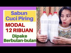 Cara Memperbanyak Sabun Cuci Piring - YouTube