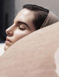 Iris Strubegger - Phil Poynter photoshoot 2011 for Vogue Germany