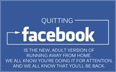 Quitting facebook