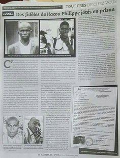 ATTENTION !!! AVEC 85% DE MUSULMANS, LA GUINÉE CONAKRY PERSÉCUTE TOUJOURS LES CHRÉTIENS.  Un journal ivoirien ce lundi 14 décembre 2015.