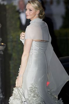 Gorgeous and flawless - Princess Charlene of Monaco.