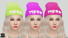 STATUS testing - by krabbie - TS4 Meow Beanies - Mesh is by LumiaLover Recolored NOT a standalone An own Icon