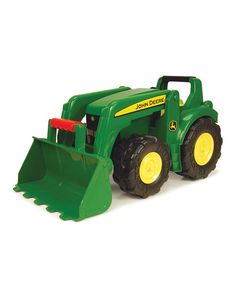 Take a look at this Green Tractor on zulily today!