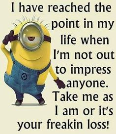 Funny Minion Pictures Below are some very funny minions memes, and funny quotes, i hope you will enjoy them at your best . and why not whatever minions do they always look funny and stupid . So make sure to share the best minions with your friends . Funny Disney Memes, Funny Jokes For Kids, Funny Quotes For Teens, Funny Quotes About Life, Quotes For Kids, Funny Memes, Funny Sayings, Hilarious Quotes, Memes Humor