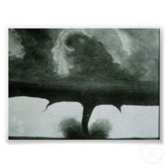 Oldest known photograph of a tornado. August 22 miles southwest of Howard, South Dakota. National Oceanic & Atmospheric Administration - I'm terrified of Tornado's! All Nature, Science And Nature, Amazing Nature, Tornados, Thunderstorms, What Is A Tornado, Fuerza Natural, Wild Weather, Mother Nature