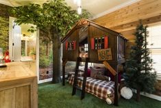 """Treehouse"" Bedroom  @ THE ULTIMATE ORLANDO VACATION RENTAL HOME 