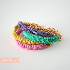 #ilovehelloberry Bracelet Summer 2012 Mini #Mint because there everyday bracalets !! I want I want want.....