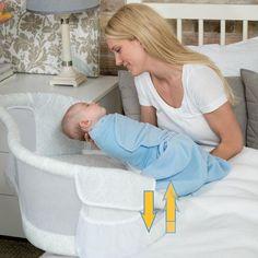 Meet the HALO™ Bassinest™ Swivel Sleeper - Bedside Baby Bassinet