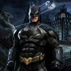A Dark Knight in Gotham by HeroPix Batman Poster, Batman Comic Art, Batman And Superman, Spiderman, Batman Robin, Batman Arkham Origins, Batman Arkham Knight, Batman The Dark Knight, Gotham City
